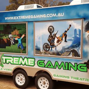 Mobile Video Gaming Theatre
